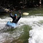 Rick kayaking