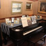 Piano at the MacGregor ranch
