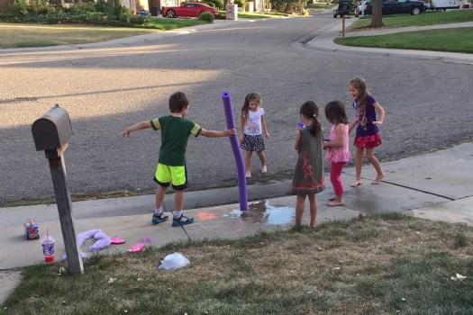Neighborhood-water-fun