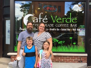 Reliving our first date at Cafe Verde