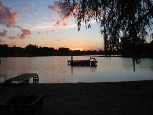 Horseshoe Lake sunset
