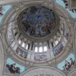 Ceiling mural in Museo Nacional