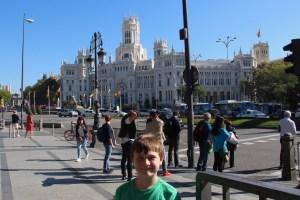 Spencer by the Palacio de Cibales