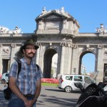 Rob at Puerta de Alcala