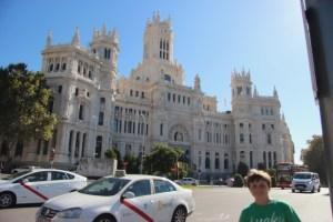 Spencer at the Palacio de Cibales