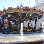 Carousel in Zaragosa
