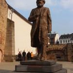 Marl Marx statue