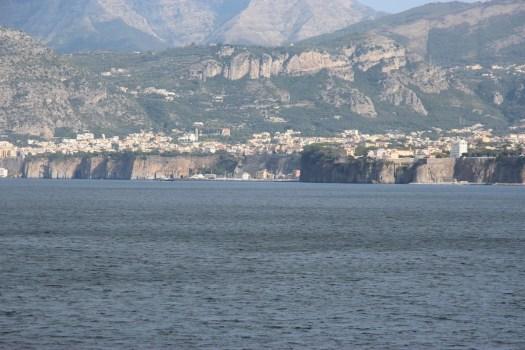 Cliffs along the bay