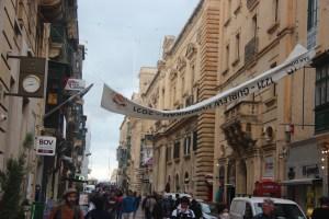 Republic Street in Valletta