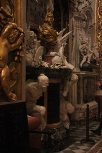 Sculptures in the cathedral