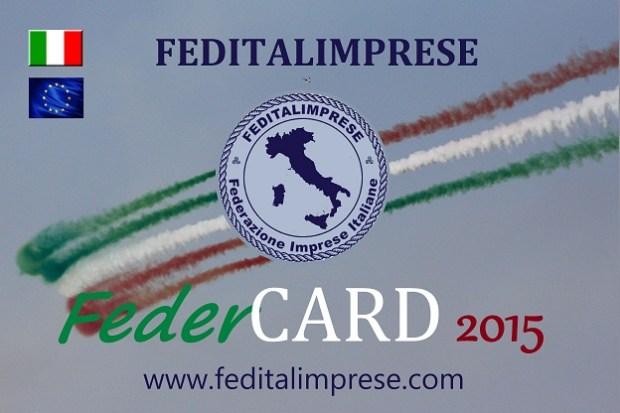 FEDER CARD nazionale 2015