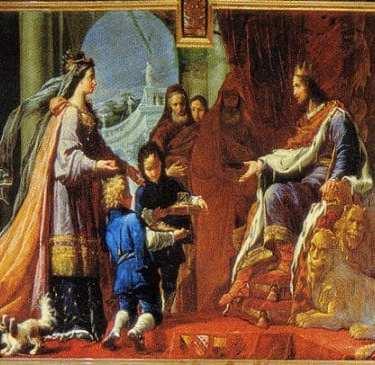arrival of the queen of sheba by handel