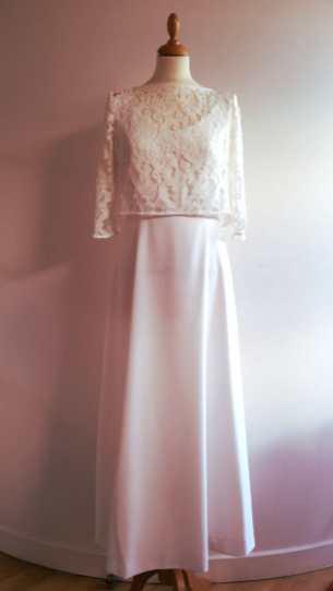 robe de mariée sur mesure par Fée au Château couture