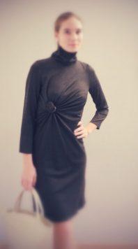 robe à drapé rayonnant par Fée au Château couturière costumière à Versailles