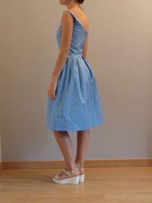 robe style années 50 et 60 par Fée au Château couturière costumière à Versailles
