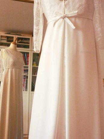 robe de mariage sur mesure par Fée au Château couturière costumière à Versailles