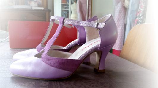 chaussures en demi-mesure par partenaire de Fée au Ch^teau