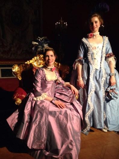 Fée au Château création de costumes historiques à Versailles