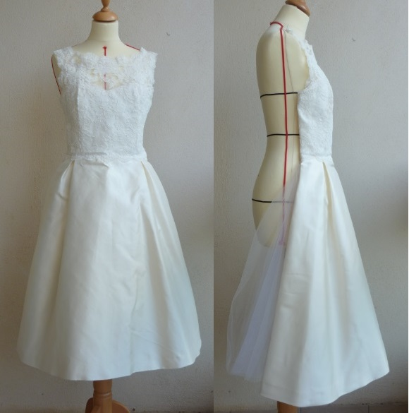 robe mariée mikado
