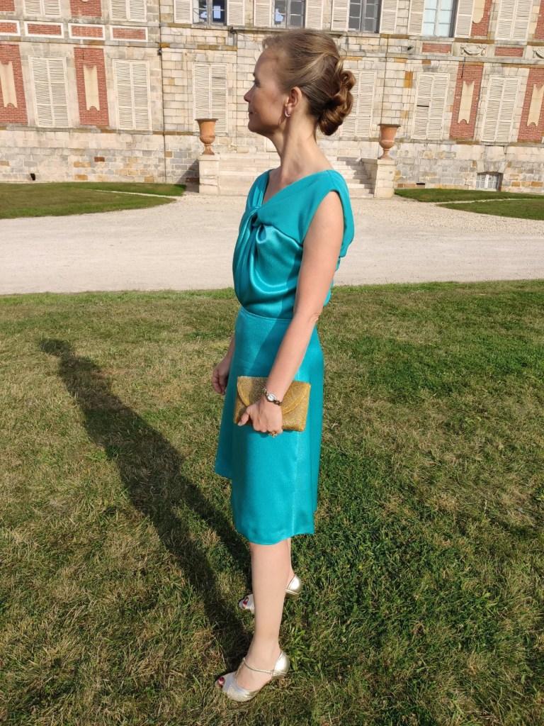 Robe d'invité au mariage par Fée au Château vos créations couture à Versailles