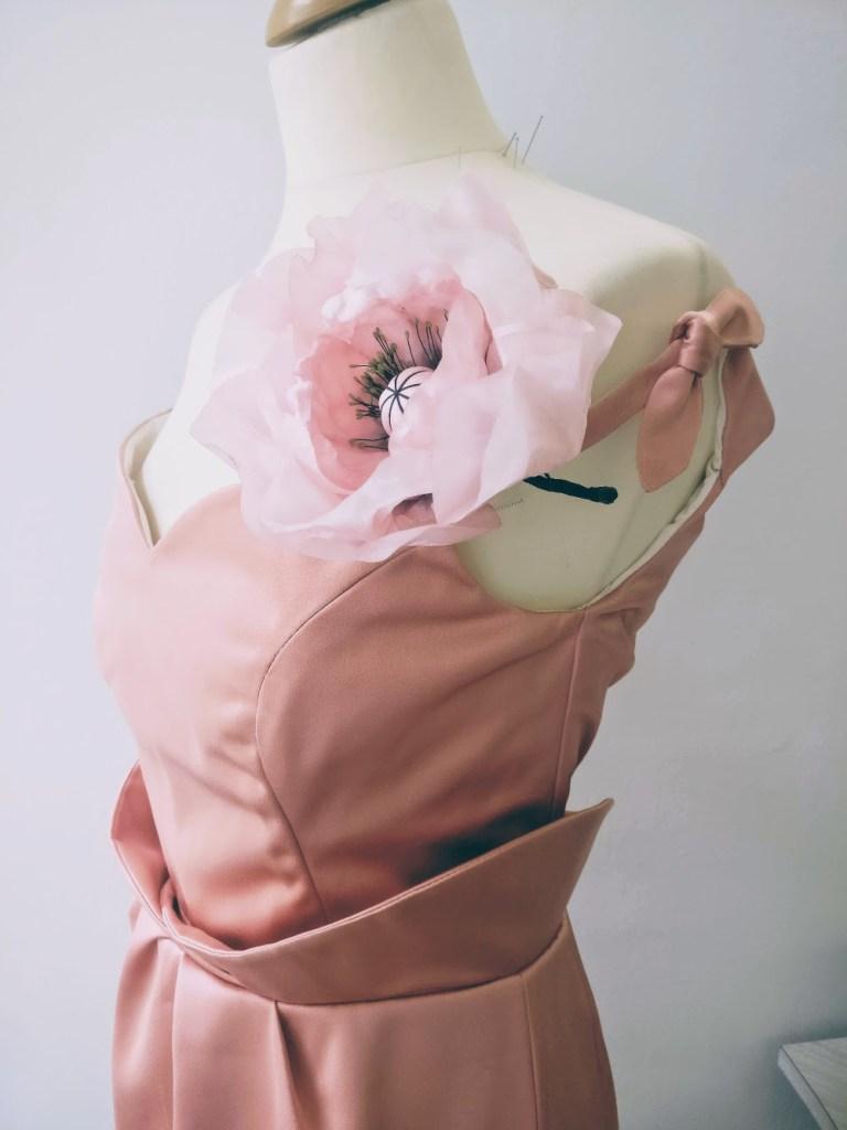 Robes et tenues de mariage et invités au mariage par couturière créatrice à Versailles