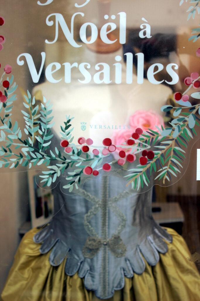 C'est Noël à la boutique Fée au Château vos créations couture à Versailles