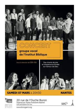 Concert Groupe Vocal IBN