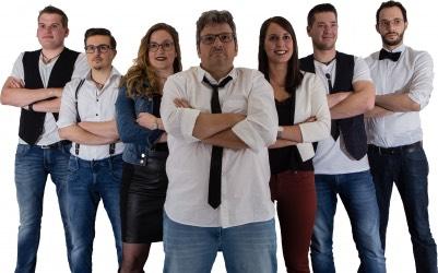 Die Musiker der Coverband Feedback!