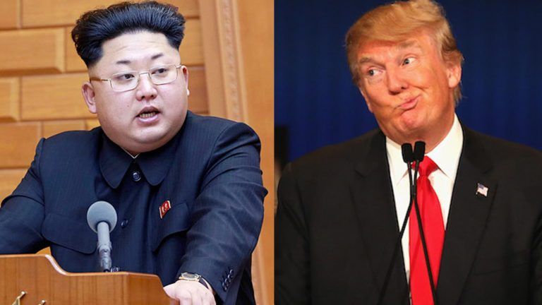 North-korea-and-donald-trump