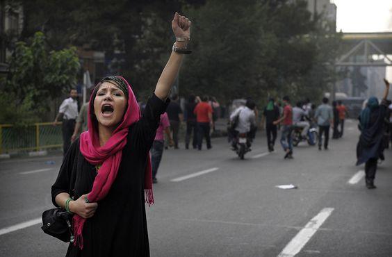 iran protest, iran , ishaq zahangiri