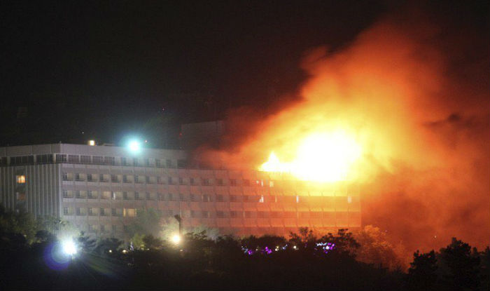 Kabul,Intercontinental Hotel, terror attack