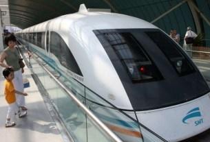 Maglev,high speed train,China, train speed 600 kmph