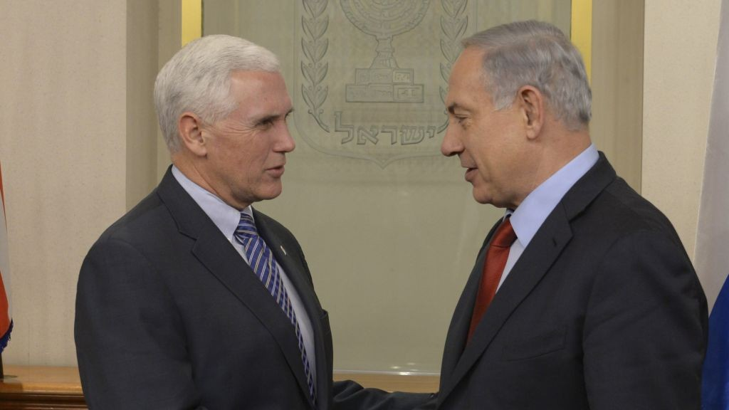 Mike Pence,Jerusalem,Israeli parliament,Iran,America