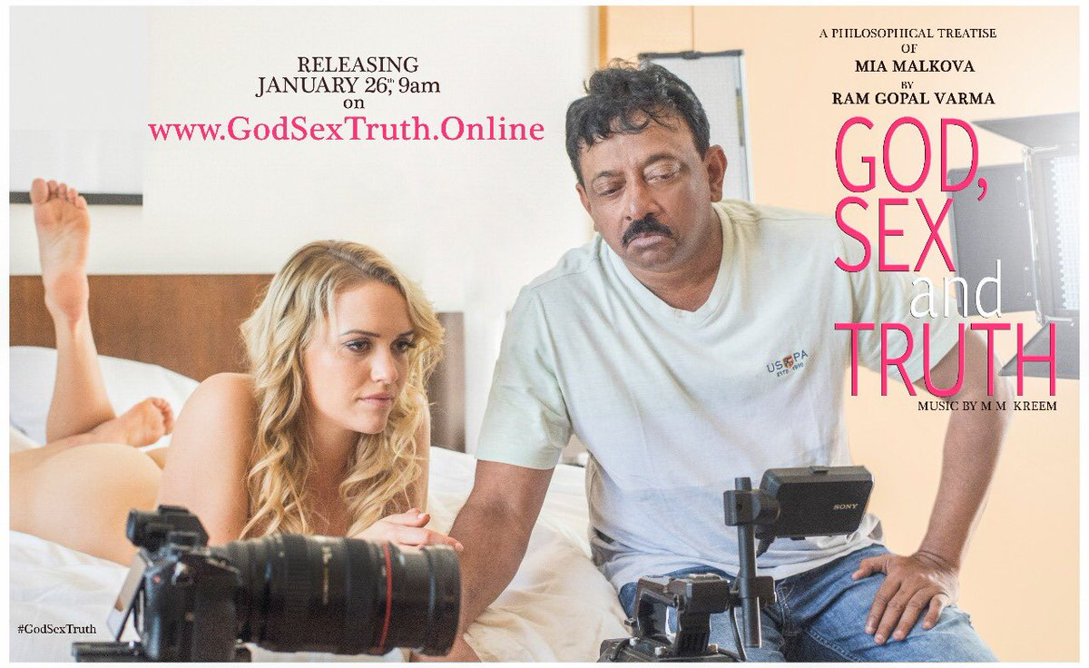 Ram Gopal Varma,mia malkova,God Sex and Truth,god