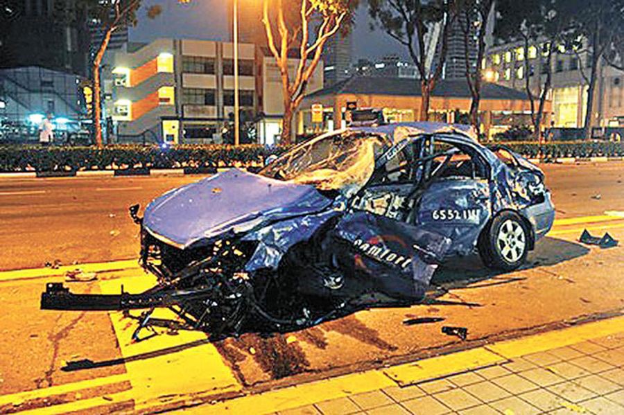Singapore,compensate,Indian citizen killed,road accident,