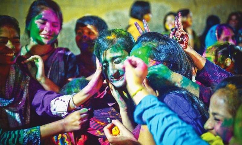Holi in Pakistan,Holi celebration,Holi