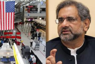 shahid khakan abbasi,Security check,Pakistani PM,America