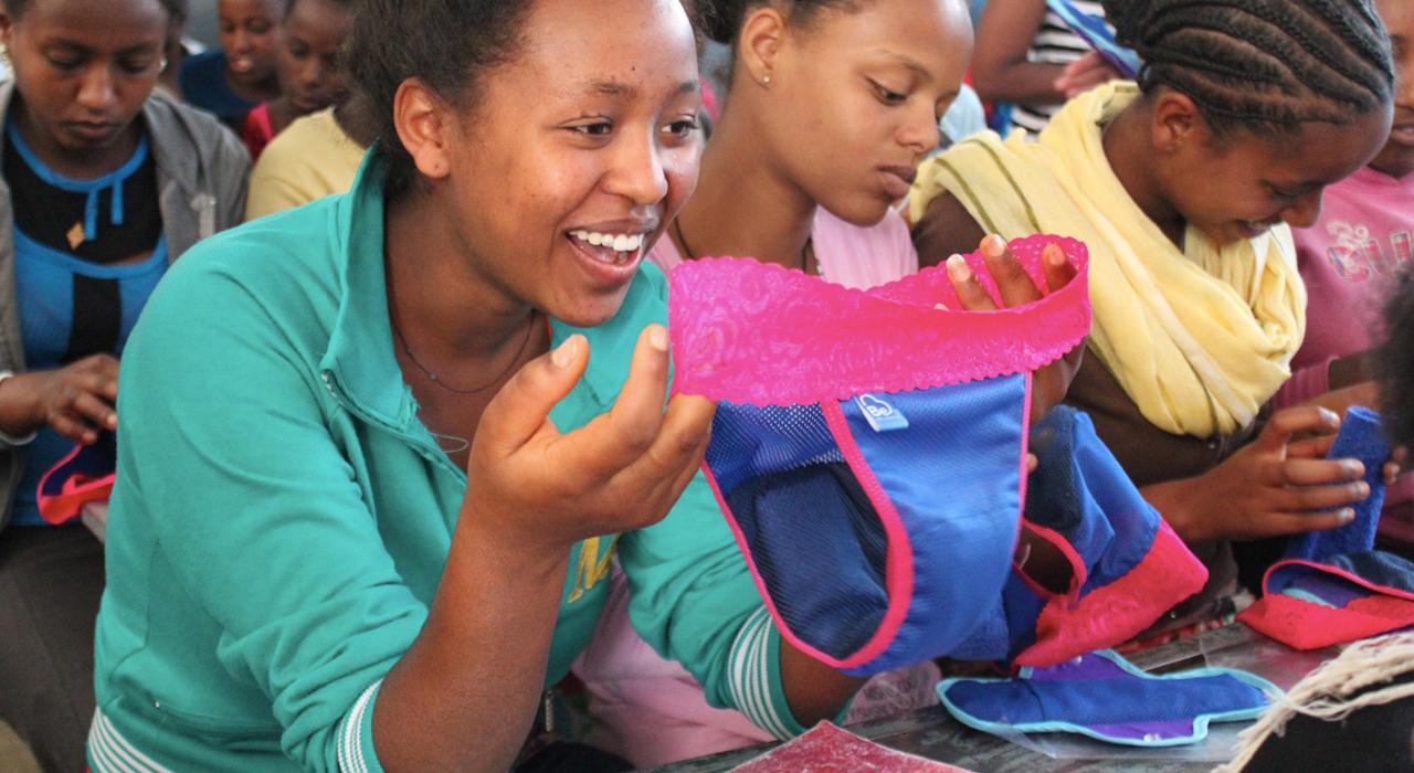 Zimbabwe,sanitary napkins,periods,menstruations