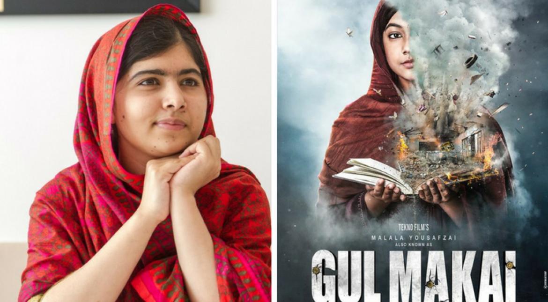 motion poster,malala biopic,Gul Makai