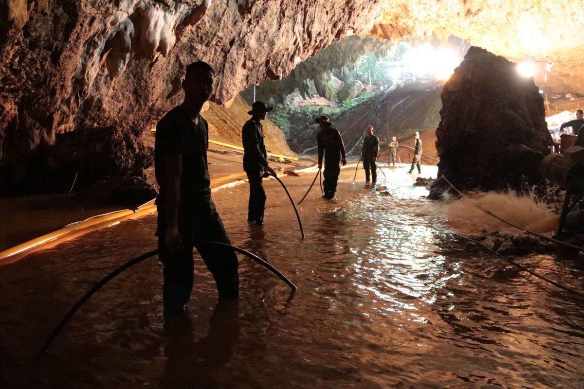 thailand cave,thai cave rescue,second phase of thai rescue