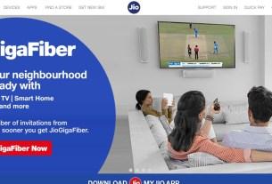 Jio GigaFiber Registration,Jio,GigaFiber,Jio, GigaFiber,Jio Broadband,Jio Phone,JioPhone,JioPhone 2