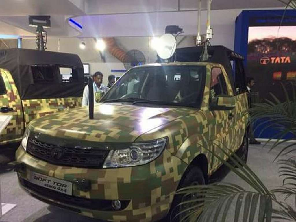 Tata Safari Storme Army ,Tata Motors ,Safari Storme ,Safari ,Indian Army ,auto News