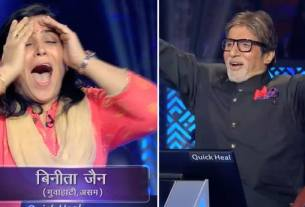 one crore winner, kbc 10 first crorepati, kbc 10, Kaun Banega Crorepati, Binita Jain, amitabh bachchan, tv News