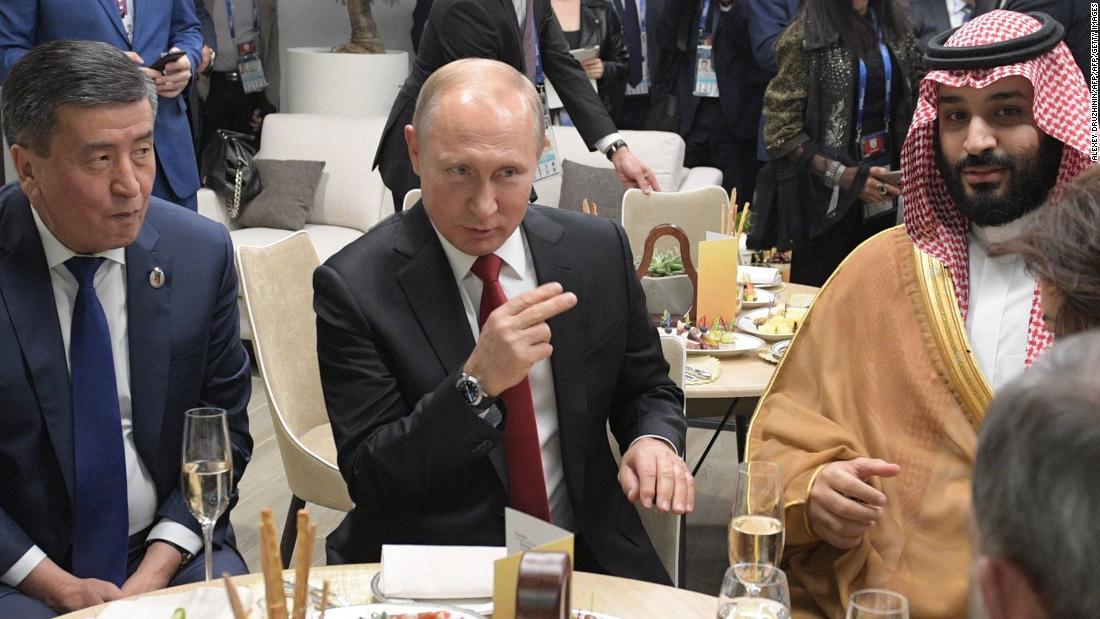 Vladimir Putin, Saudi royal family, khasoggi murder, Other countries News