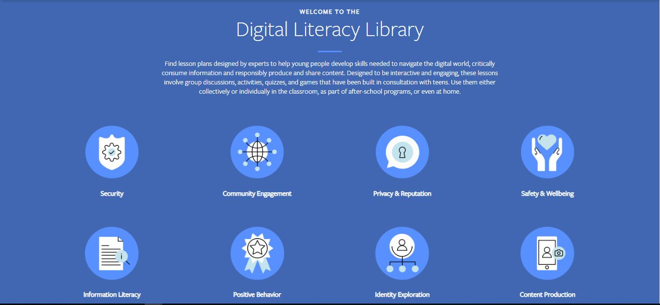 Facebook feature, facebook digital literacy library, facebook, Gadgets News,digital literacy library