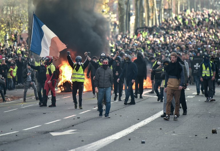 Yellow Vest, protest, france, Rest of Europe News