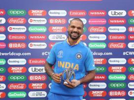 world cup 2019, Shikhar Dhawan, DHAWAN RULED OUT FOR WC,Shreyas Iyer, shikhar dhawan injured, Rishabh Pant