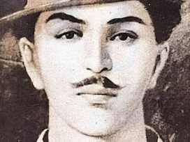 Giving a tribute to Bhagat Singh on his birthday today