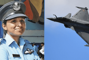 Shivangi Singh, Rafale, Indian Air force, fighter jet, pilot