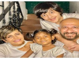 Mandira bedi adoption, Tara Bedi Kaushal, Mandira bedi husband, Mandira bedi children, Mandira bedi and Raj Kaushal wedding